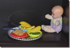 baby doll eating 2