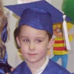 Jonathan's preschool graduation (late March)